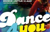 partyposter-dance4you-weijenbelt