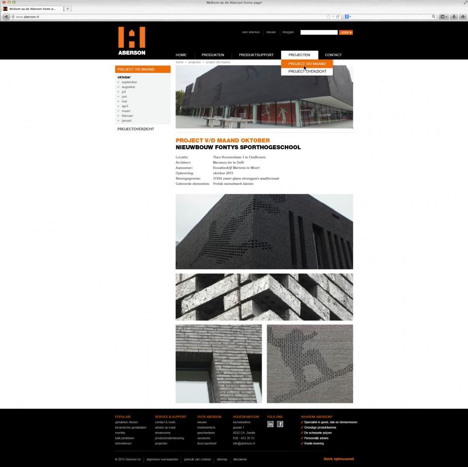website-aberson-projecten